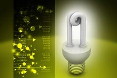 Risparmio energetico fluorescente Fotografie Stock Libere da Diritti
