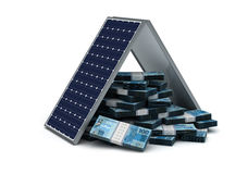 Risparmio energetico reale brasiliano Fotografia Stock