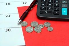 Risparmio finanziario Fotografia Stock
