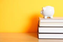 Risparmio per l'istituto universitario Immagine Stock Libera da Diritti