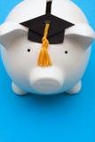 Risparmio per l'istituto universitario Immagini Stock