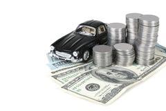 Risparmio sull'automobile Immagini Stock Libere da Diritti