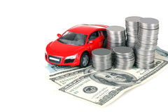 Risparmio sull'automobile Fotografia Stock