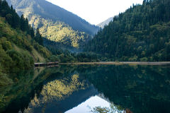 Rispecchi il lago Fotografia Stock