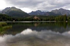 Rispecchiandosi delle montagne Fotografie Stock Libere da Diritti