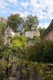 Rispettare il castello in Obergrombach fotografie stock