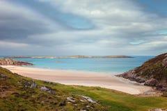 Rispond beach, near Durness, Highland, Scotland royalty free stock photo