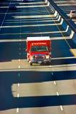 Risposta di emergenza del corpo dei vigili del fuoco Fotografie Stock