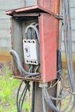 Risque électrique images stock
