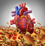 Risque de maladie cardiaque Images stock