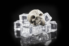 Risques de glace Image stock