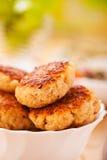 Rissóis da carne (carne de porco, carne, cordeiro) Foto de Stock Royalty Free