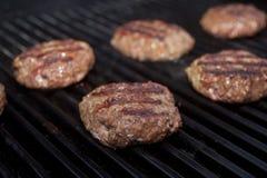 Rissóis do Hamburger Foto de Stock Royalty Free