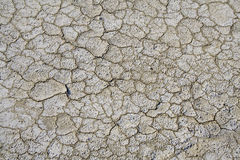 Riss auf der Erde Stockfoto