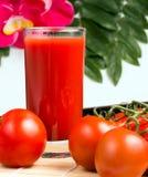 Riss-Tomate Juice Indicates Drinks Drink And durstig stockbild