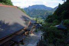 Risshaku ji Yamadera in Yamagata Royalty Free Stock Images