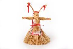 Russian handmade doll Koza. Rissian handmade doll Koza is a mascot for happiness and vital power Royalty Free Stock Images