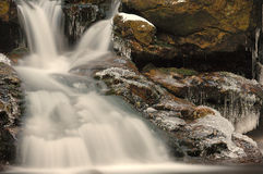 Rissloch Waterfalls (Germany). The Rissloch Waterfalls in the Bavarian Forest (Germany Royalty Free Stock Photography