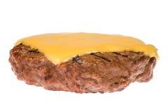 Rissol do Hamburger com queijo foto de stock royalty free