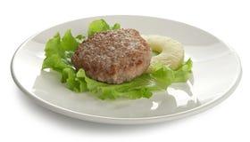Rissole de viande images stock