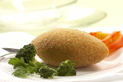 Rissole (meatless ball) Stock Image