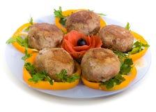 rissoles κρέατος Στοκ εικόνες με δικαίωμα ελεύθερης χρήσης