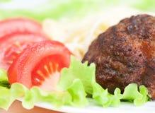 Rissoles мяса Стоковые Изображения