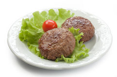 Rissoles мяса Стоковая Фотография RF