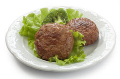 Rissoles мяса Стоковые Фотографии RF