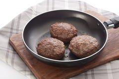 Rissoles мяса Стоковые Изображения RF