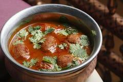Rista - un curry senz'ossa del montone dall'India immagini stock