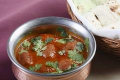 Rista - un curry senz'ossa del montone dall'India immagine stock libera da diritti