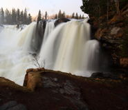 Ristafallet waterfall Royalty Free Stock Images