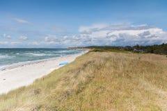 Ristinge dune Royalty Free Stock Photo