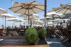Ristorante brasiliano della spiaggia Immagine Stock