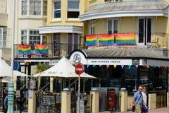 Ristorante a Brighton, Inghilterra Fotografie Stock
