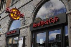 RISTORANTE A CATENA DI HARD ROCK CAFE DELL'AMERICANO Immagini Stock Libere da Diritti