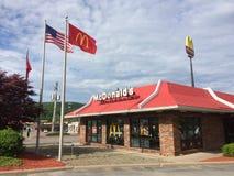 Ristorante classico di stile del ` s di McDonald Fotografia Stock Libera da Diritti