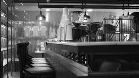 Ristorante del caffè del contatore di Antivari della caffetteria Immagine Stock Libera da Diritti