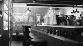 Ristorante del caffè del contatore di Antivari della caffetteria Fotografia Stock