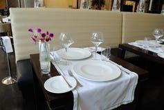 ristorante del lusso dell'hotel Fotografia Stock Libera da Diritti