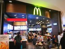 Ristorante del ` s di McDonald fotografie stock libere da diritti