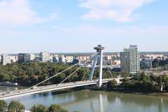 Ristorante del UFO a Bratislava, Slovacchia immagine stock