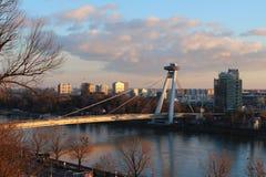 Ristorante del UFO di Bratislava fotografia stock libera da diritti