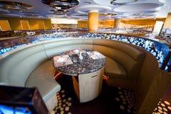 Ristorante dell'albergo di lusso Immagini Stock Libere da Diritti