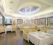 ristorante dell'interiore del classik Immagini Stock