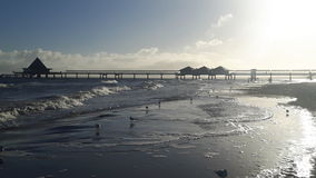 Ristorante dell'oceano Fotografia Stock