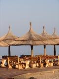 Ristorante della spiaggia Immagini Stock Libere da Diritti