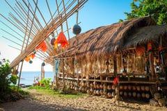Ristorante di bambù Fotografie Stock