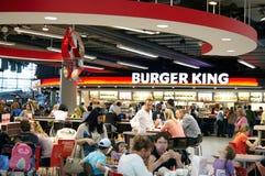 Ristorante di Burger King Fotografia Stock